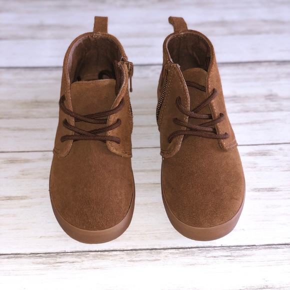 GAP Other - Gap Kids Tan Suede Boots - Size 9 Toddler